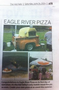 Our first event made the local paper!