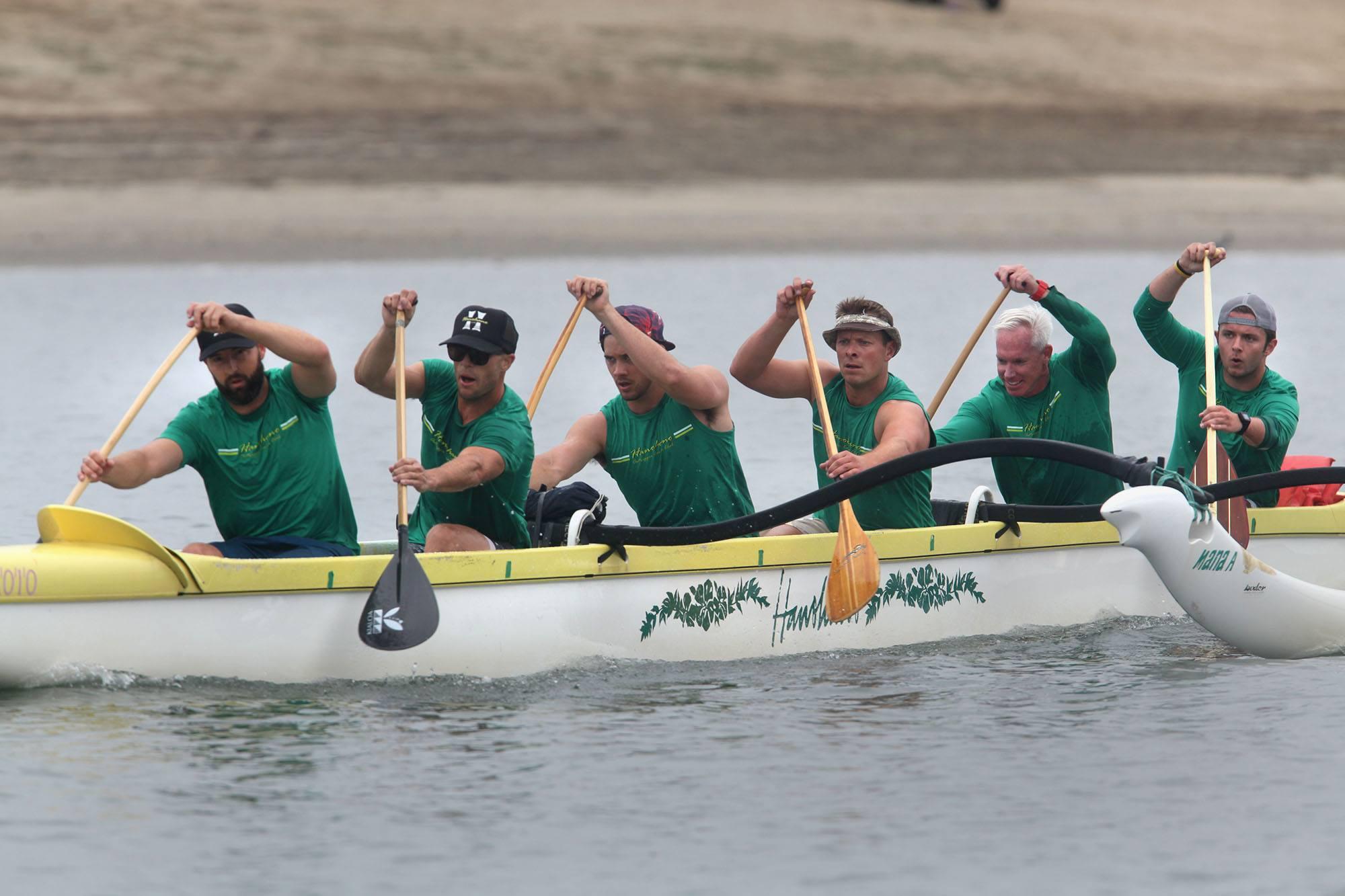 HanoHano Outrigger Canoe Novice Champions 2016